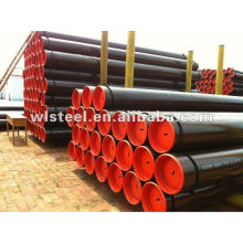 API5CT H40/J55/K55/L80 seamless pipe steel stockist