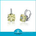 Factory Price 925 Sterling Silver CZ Earring (E-0049)