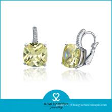 Preço de fábrica de brinco de diamante