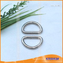 Inner size 24mm Metal Buckles, Metal regulator,Metal D-Ring KR5063