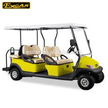 Excar A1S4 + 2 voiturettes de golf électriques bon marché voiturette de golf à vendre électrique buggy golf
