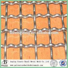cheap woven iron wire mine crimped mesh