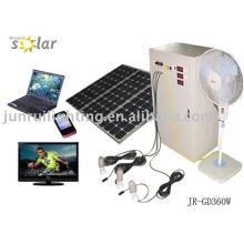 Sistema casero de práctica CE energía solar, generador solar system(JR-GD360W)