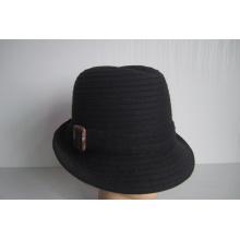 Chapeaux tressés en laine pour femmes - YJ73