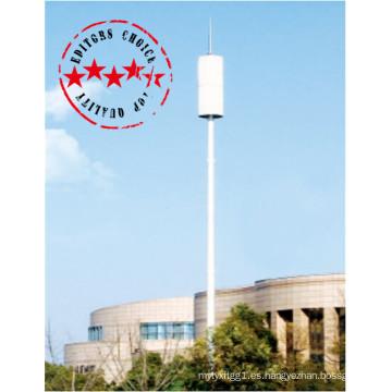 Precio de fábrica torre de telecomunicaciones de 30 m para sitios comerciales