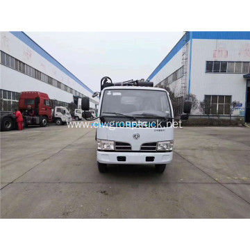 4x2 Side loading compressed garbage truck