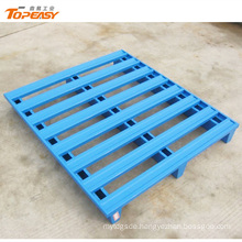 Customized 1200x1000 blue stacking steel pallet