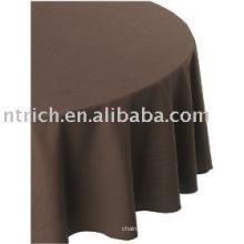 nappe polyester 100 %, couverture de table de banquet/hôtel, linge de table
