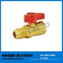 Beste Leistung CSA Genehmigung Messing Gas Kugelhahn (BW-USB06)