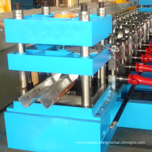 hydraulic highway guard bar plate roll forming machine