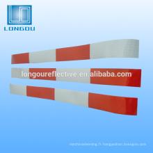 scie à chaîne rouge bande réfléchissante de véhicule pour les panneaux de signalisation