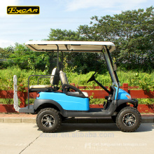 2 front seat and 2 rear seat electric golf cart