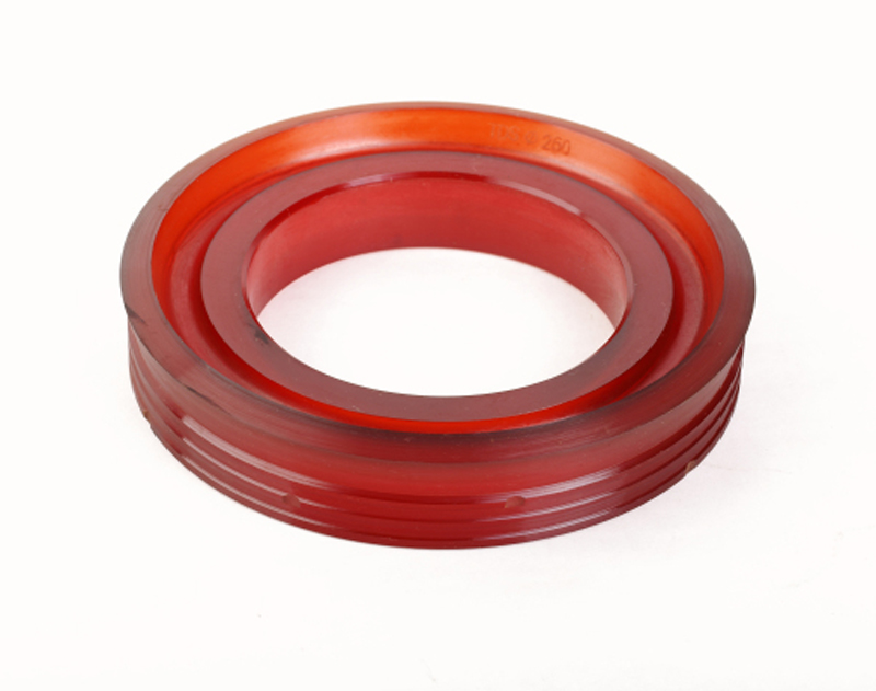 Red Urethane Casting Piston