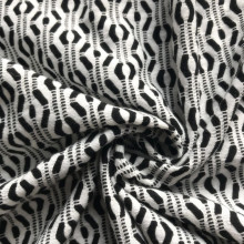 100% Original Factory for China Polyester Jacquard,Fabric Composition,Polyester Lining,Heather Fabric Manufacturer Polyester Jacquard black white knitting fabric export to Dominican Republic Manufacturer