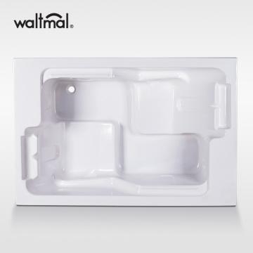 Ванна Boudoir Double Bathers для ванной в белом