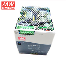 MEAN WELL 75 w para 960 watt tipo slim CE UL TUV GL 48VDC fonte de alimentação 20amp din rail SDR-960-48