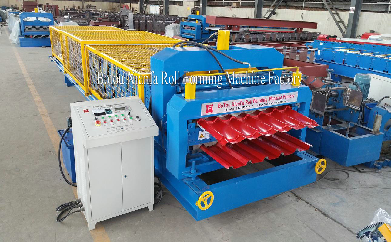 double layer cold roll forming equipment