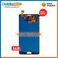 Piezas de repuesto de fábrica outlet lcd, panel frontal lcd para Samsung Nota 4 lcd