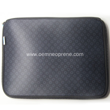 Black Portable Neoprene Laptop Bags for Business