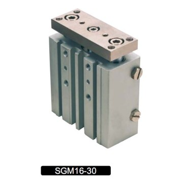 SG Series Three-Shaft Pneumatic Cylinder