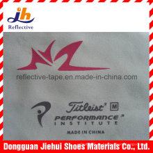 Logotipo de transferencia de calor impreso personalizado colorido de alta calidad