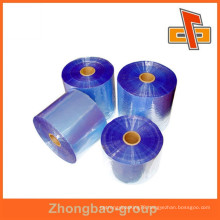 plastic packaging transpanrent PVC shrink film in rolls for industry use