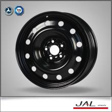 Amplamente utilizado 16 polegadas 5x100 rodas de aço com acabamento personalizado
