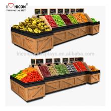 Nós somos a sua única fonte de parada para o mercado de supermercado de madeira de frutas e vegetais Loja de armazenamento de loja desde 1998