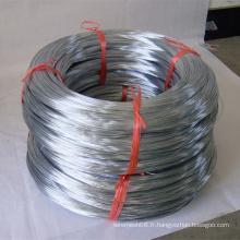 Fil de fer galvanisé pour le treillis métallique de tissage