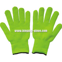 7gterry Knit Liner Acrylic Fluorescent Glove (2300)