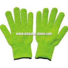 7gterry вязаной основой акриловые флуоресцентные перчатки (2300)