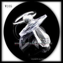 Hermosas cuentas de cristal W105