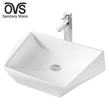 wholesale bathroom top mount ceramic sinks