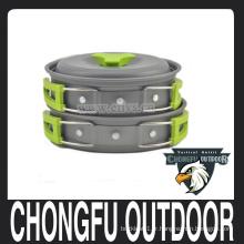 Nouvelle plate-forme verte et pot de 2016 pour équipement de camping, survie de randonnée, randonnée, pique-nique
