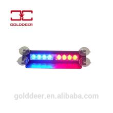 Luzes de para-brisa caminhão de reboque de emergência veículo diodo emissor de luz do visor de aviso