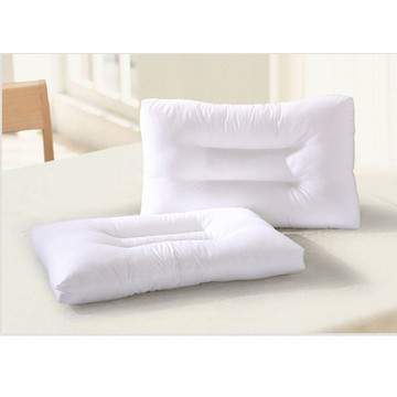 Superweiches weißes Nackenkissen aus Baumwolle
