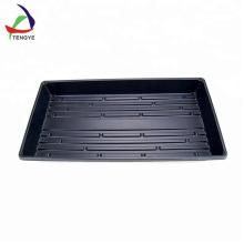Bandeja termoformadora de material grueso de alta calidad negro