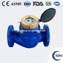 Factory Price Flange Connect Horizontal Woltman Type Bulk Water Meter