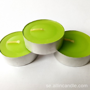 14g Mini Tea Light Candle Oskärmad tealight ljus
