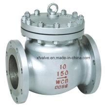 150lb 300lb 600lb Válvula de retención del extremo de la brida del acero de molde
