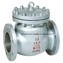 150lb 300lb 600lb Cast Steel Flange End Swing Check Valve