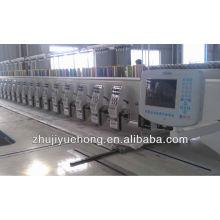 6 cores máquina de bordar de alta velocidade de 24 cabeças para venda YUEHONG
