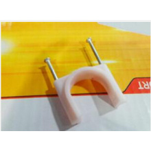 Clips de cable de alambre eléctrico con material plástico