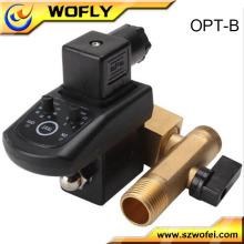 """110V 1/2 """"Electronic válvula de drenagem automática ajustável"""