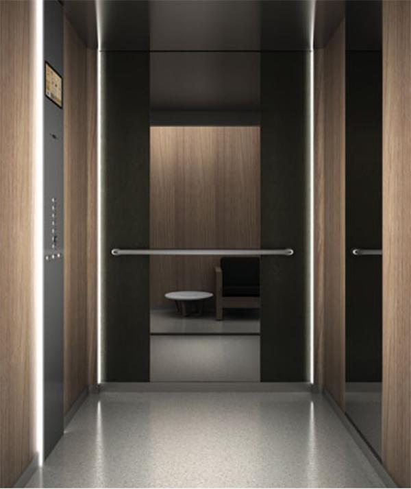 skinplate elevator cabin