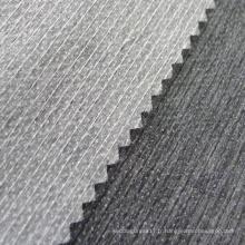 Entoilage de papier de polyester cousu pour chemises