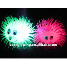 LED flashing puffer ball