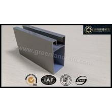 Aluminum Profile for Sliding Winow Frame Anodized Matt Silver