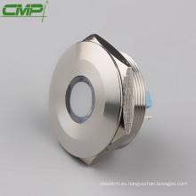 CMP grande 30 mm impermeable metal LED Lámpara de señal rojo verde amarillo azul blanco naranja