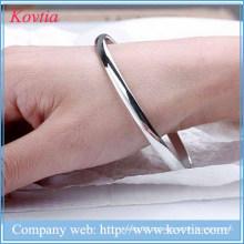 2015 Hallowmas pulseira magnética homens pulseira de aço de titânio bracelete